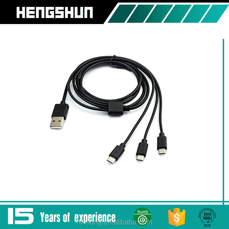 High Quality micro Usb Adapter 3 in 1 Charging Charger Cable Connector,USB Cable