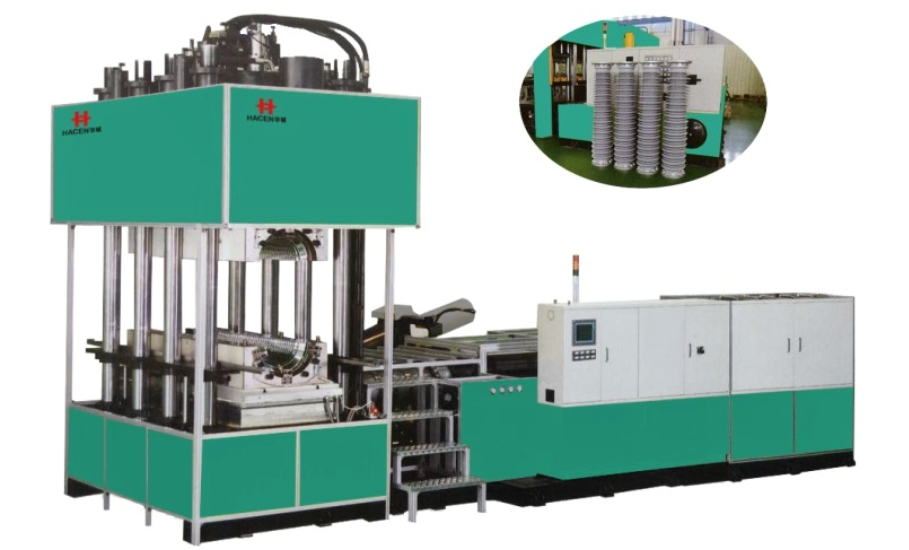 XHL Solid Silicon Rubber Injection Moulding Oil Seal Compression Machine