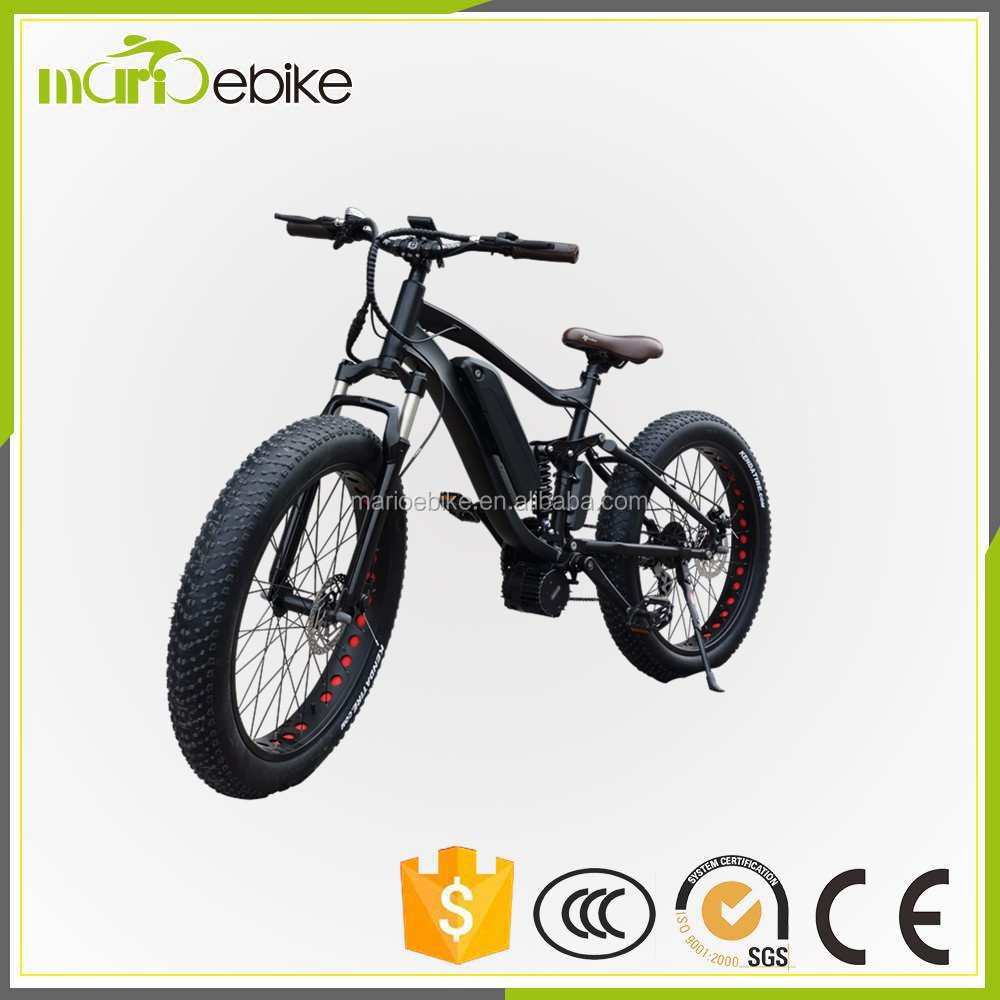 bbs03 48V 1000W Sport Electric Mountain Bike Fat Tire Lithium Battery Electric bike
