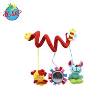 Customized baby bed toys plush Crib hanging baby toys