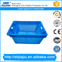 vegetable crates mould fruit basket mold high quality plastic stackable crate