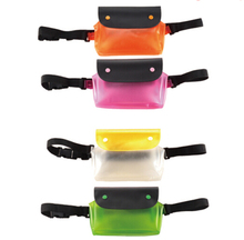 Colorful Waterproof Phone Pouch Running Waist Bum Dry Bag for Beach Swimming Boating