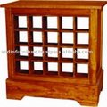 Low Wine Rack Cabinet
