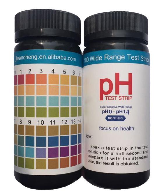 Swimming Pool Ph Test Strips Water Testing 0 14 Ph Strips Buy Ph Strips Rapid Test Strip 0 14
