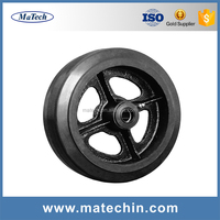 Cheap Price OEM Heavy Duty Alloy Steel Investment Casting Hand Wheel