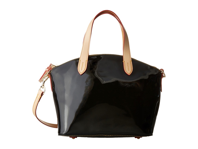 bling long strap black patent leather trendy women bags
