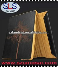 New Bamboo case with stand for ipad Stand Case for ipad 2 IBC15