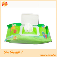 Wholesale Baby Wet Wipe in China Non Alcohol Ultra Compact Disposable Cheap Factory Price