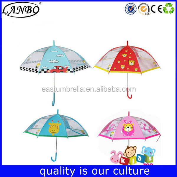 small carton kid umbrella rubbit ear kid umbrella animal kid umbrella