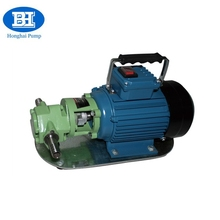 Portable electric small oil transfer gear pump