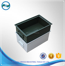 stackable steel crates for warehouse
