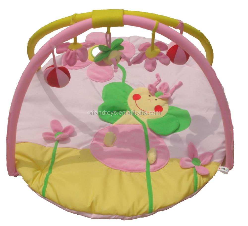 Soft Blanket Toddler Baby Musical Activity Deluxe Gym Play Mat Toy