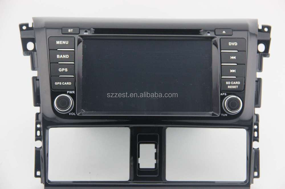 ZESTECH Factory OEM CE/FCC/ROHS certification and 7 inch 2 din car dvd for toyota VIOS 2014