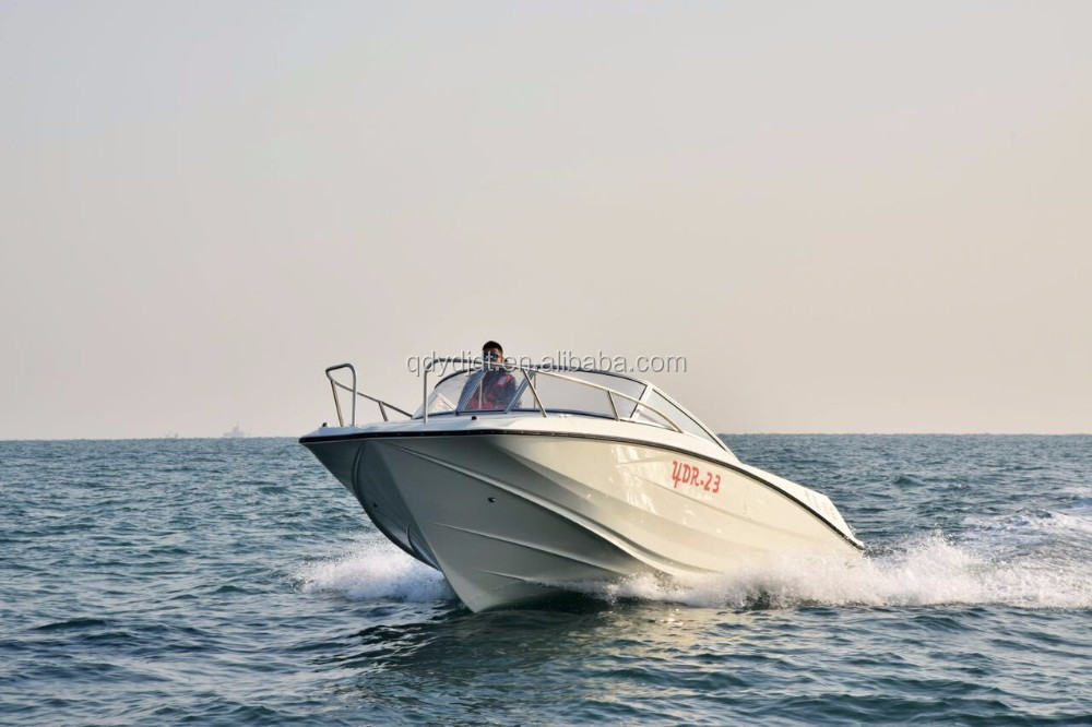 YDR 23 feet fiberglass open sports boat