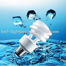 Low price T3 Half Spiral Energy Saver cfl light bulb E27 price