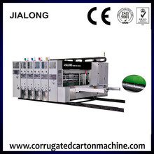 Hebei dongguang different size Corrugated carton box Automatic feeder flexo printer rotary slotter and die cutter machine