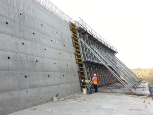 metal steel formwork for concrete