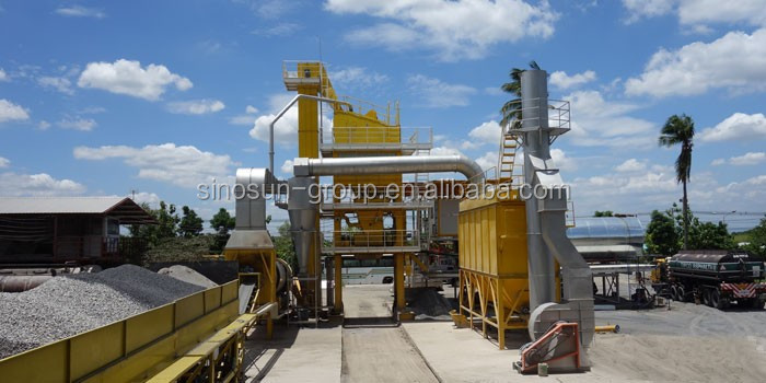 China supplier stationary batch mix 40tph-400tph asphalt mixing machine for sale