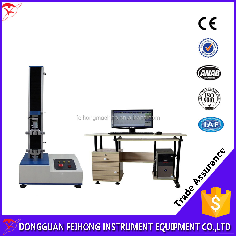 Instrument And Measurement With Electronic Universal Tensile Testing Machine