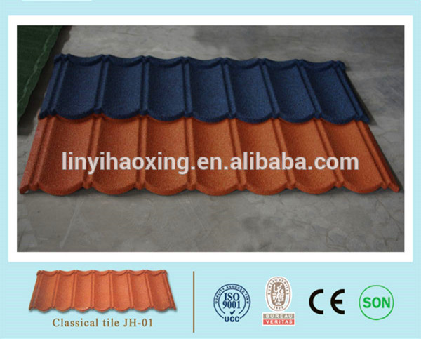 terrabella classic stone coated metal roof tile