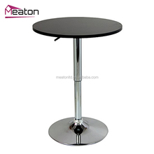 Cheap european style coffee bar metal table frames design for home furniture
