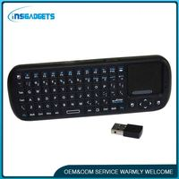H0T123 wireless keyboard with mouse for google tv