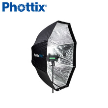 120cm easy up folding Octagonal Umbrella Grid Extra Large Softbox for Studio light off-camera flash photography photo shooting