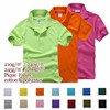 2017 hot selling 245gsm TC blank polo shirt wholesale polo t shirt plain