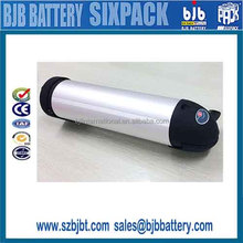 Lithium battery, 3.6V2.5Ah, 7S6P, for electric surfboard