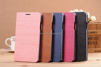 New product wood grain flip cover phone case for samsung note 3