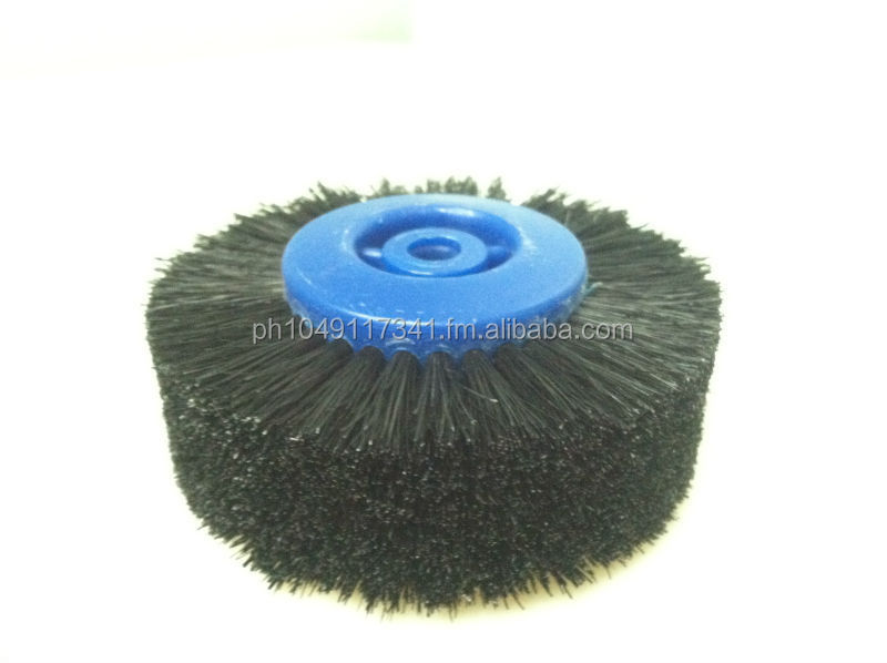 Wheel brush 6 rows