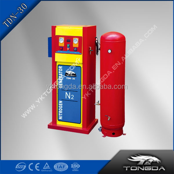 Car Tire Nitrogen generator TDN-30 with output of nitrogen 50-70L, suitable for mini-bus and medium bus safety and practical