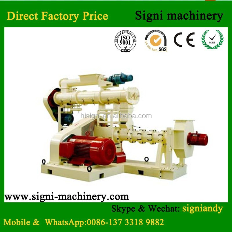 Animal feed pellet mill/mini feed mill/floating fish feed mill machine