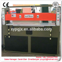 Xiongying hydraulic plane die cutting machine/packing/canvas/plastic film slitting machine