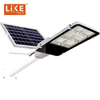 LikeTech 2020 NEWEST 200W Solar Led Street Light 200W badminton court light Lampara solar Super Bright High Quality
