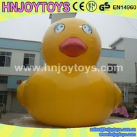 Inflatable rubber big yellow duck,World's most popular Inflatable advertising Yellow Duck