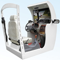 Portable car driving simulator right or left hand