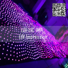 night club decoration curtain led ceiling lighting