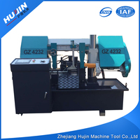 Logo Printed Dissimilarity High Precision CNC Auto Band Saw Processing Machine for Cutting Metal
