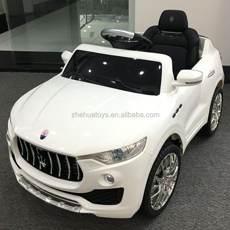 2017 Hot sale licensed kids car Maserati ride on baby electric toy car