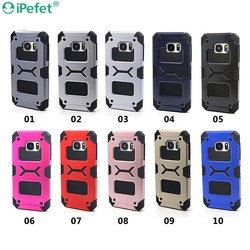 Heavy Duty PC TPU 2 IN 1 Hybrid Phone Case For Samsung Galaxy S7