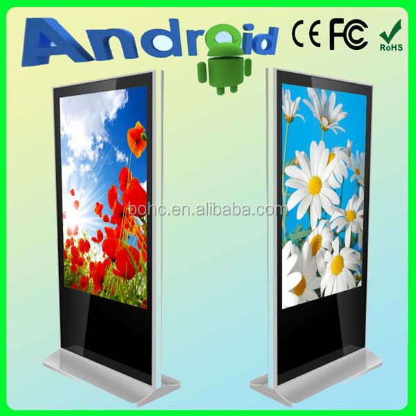 42 Android wifi advertising building cosmetic display lcd