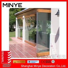 Customized interior bifold doors with glass inserts good quality