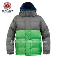 Boys down hooded jacket