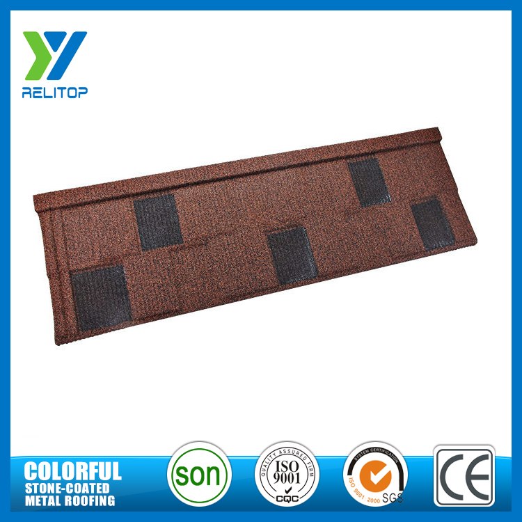 Best sale aluminium zinc sand chip coated metal roofing shingles