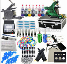 2014 newest Professional Tattoo Kit with high quality and affordable price tattoo kits with free shipping