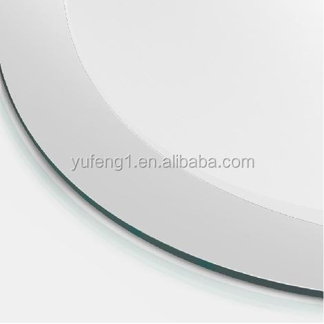 Miroir de la chine approvisionnement d 39 usine ovale sans for Miroir biseaute sans cadre