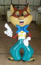 inflatable fox toy/inflatable cartoon/inflatable advertising
