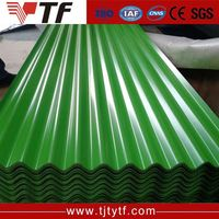 China supplier New product gi gl curve corrugated sheet steel