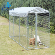 Professional factory direct sale large chain link dog kennel lowes dog kennels cages outdoor